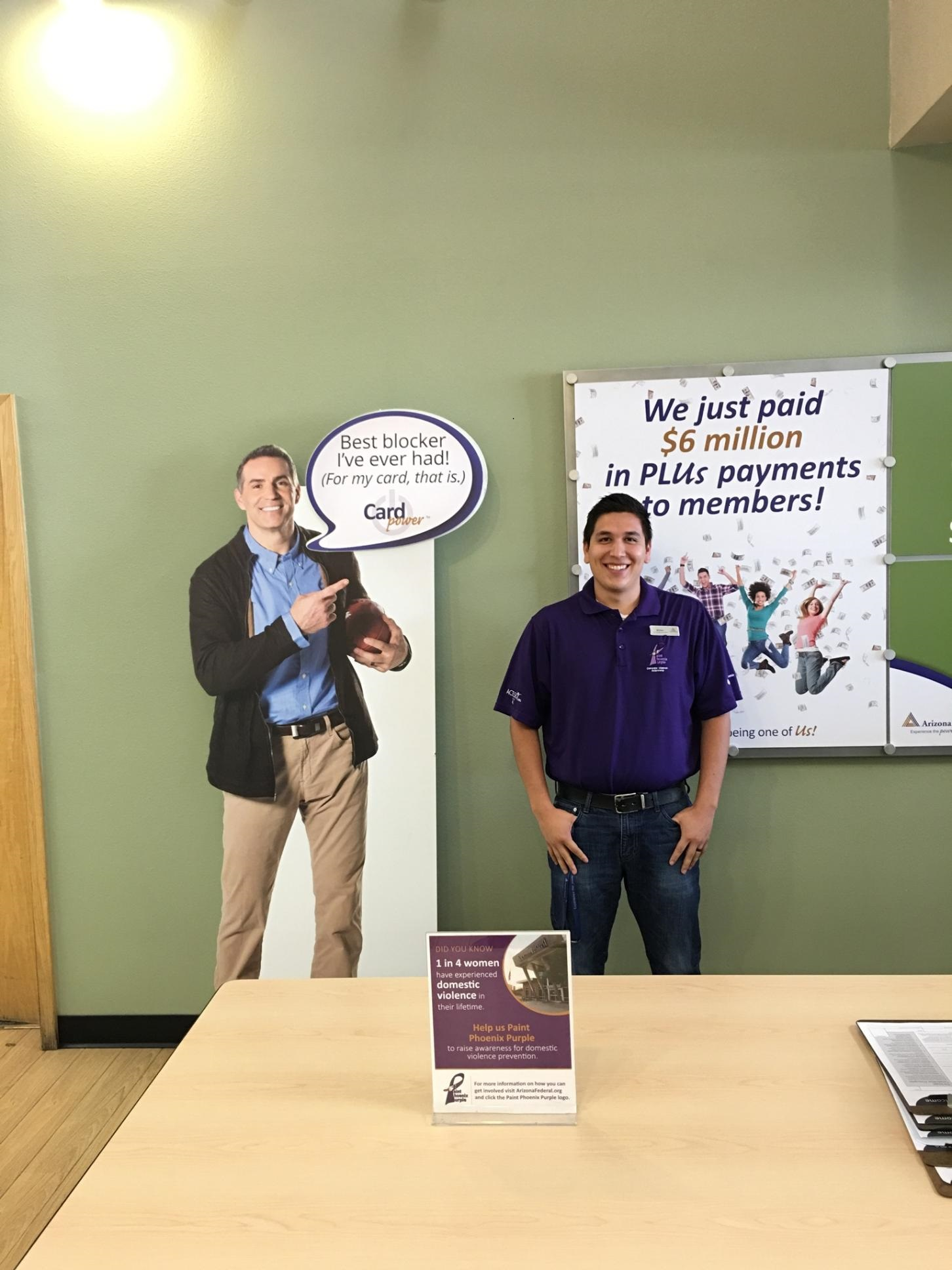 Arizona Federal Credit Union #PaintsPHXPurple