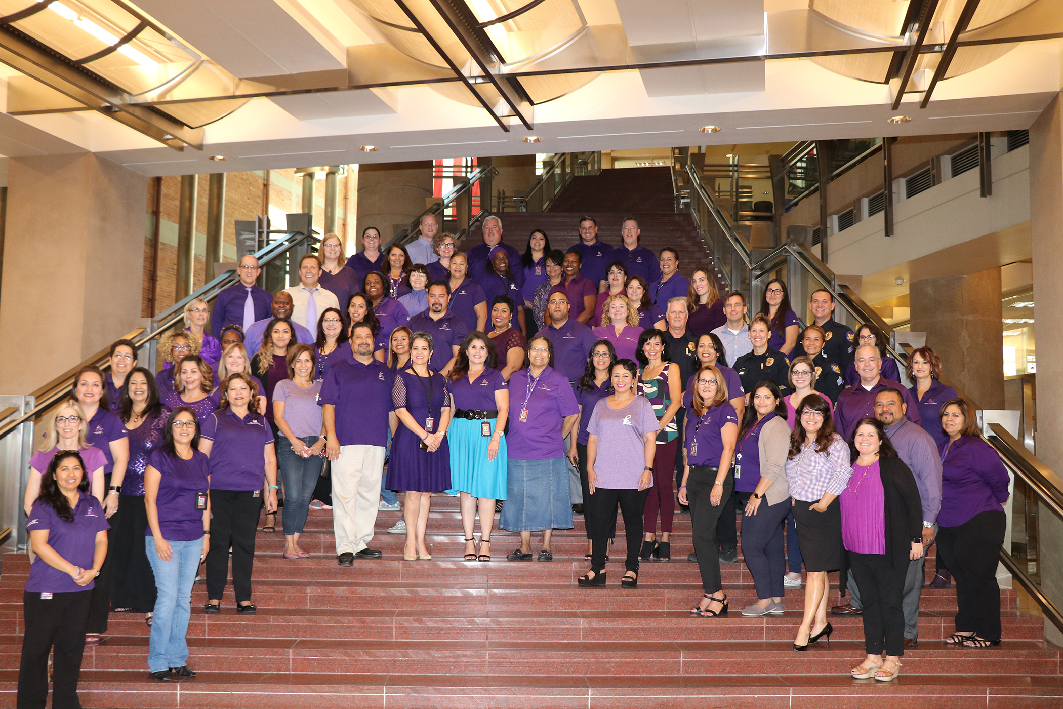 City of Phoenix Staff #PaintPHXPurple