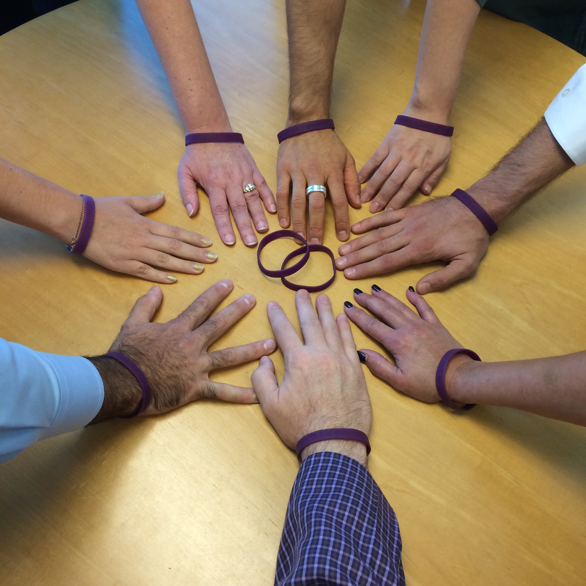 Get Your #PaintsPHXPurple braclet today!